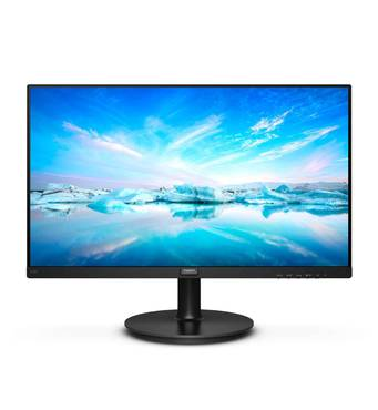 "Новий монітор Philips 220V8L / 21.5"" (1920x1080) VA W - LED / DVI - D, VGA"