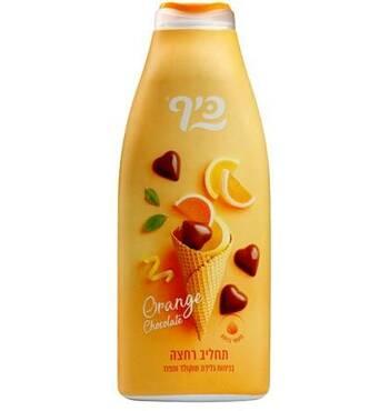 Гель для душу Keff Морозиво з шоколадом та апельсином  700 мл.