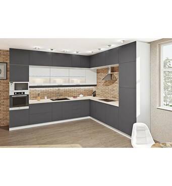 Кутова кухня Еко 20 фасади-дсп ламіновані