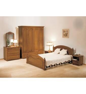 Спальний гарнітур Ельза з дуба