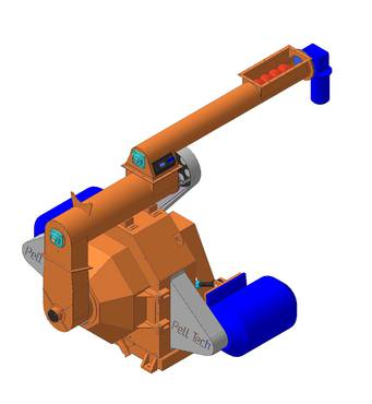 GRP-1,5 Продуктивність 1200 кг/год