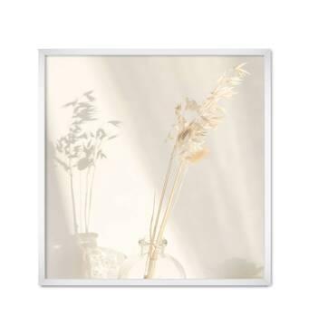 """Постер """"In Light"""" без скла 30 x 30 см у білій  рамці"""