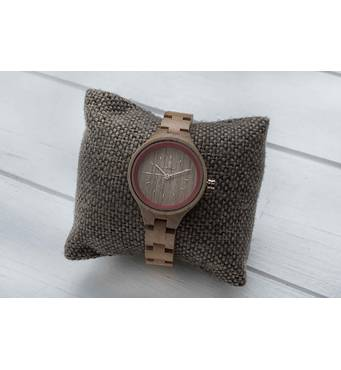 Деревянные наручные часы Rose