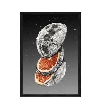 """Постер """"Сюрреалізм vol. 009"""" з антивідблиском  склом 420x594 мм в чорній рамці"""