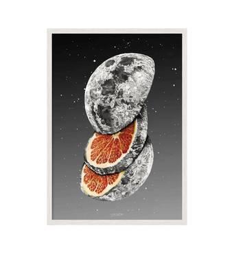 """Постер """"Сюрреализм vol. 009"""" без стекла 420x594  мм в белой рамке"""