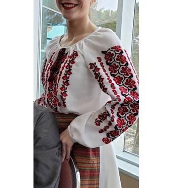 женская вышиванка ручной работы купить недорого
