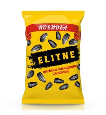 """Соняшникове насіння смажене """"ELITNE"""" 140 г"""