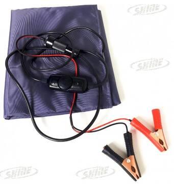 Електрогрілка ЕГ - 1/12 (грілка електрична автомобільна від прикурювача або клем акумулятора)