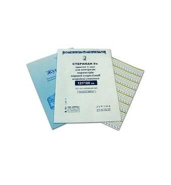 Смужки індикаторні Норма Стерілан №1000 для контролю парової стерилізації 120/45,121/20,132/20