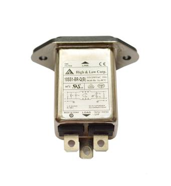 Роз'єм кабелю живлення 115/250V 10A з фільтром, Rheavendors, ELE0002315