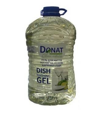 Гель для миття посуду на основі соди Donat 5 л (54-365)