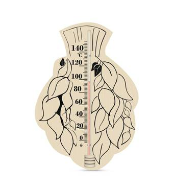 Термометр сувенірний для сауни  Береза 6ТУ   (77-40)