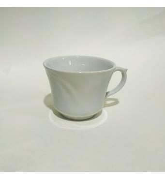 Чашка  фарфорова біла Ирис   250 мл   (37-29)