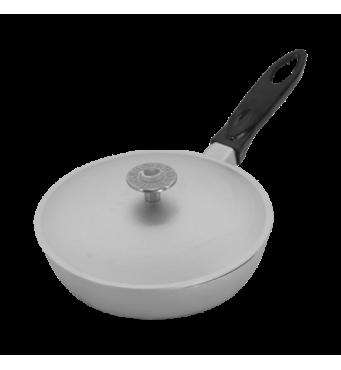 Сковорода  алюмінієва 200 мм зі знімною ручкою   (65-138)
