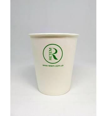 Паперові стаканчики з логотипом