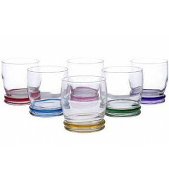 Набор стаканов Luminarc Ranbow  6 шт 310 мл 0754 (70-413)
