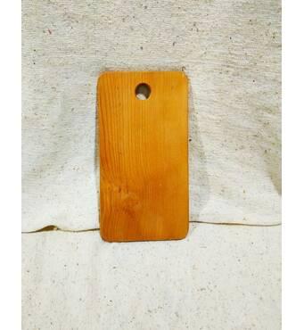 Дошка обробна дерев'яна 18,5 х 33 см (43-104)