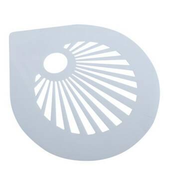 Трафарет для  торта  пластиковый  Empire Солнце   205 мм  8749 (74-579)