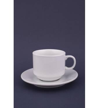 Чашка кофейная с блюдечком. 1100 Гуанчжоу(29-15)