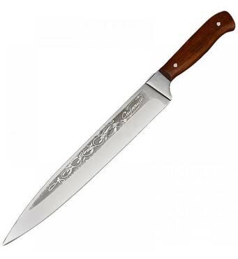 Нож  Спутник разделочный средний 310*30 мм (20-97)