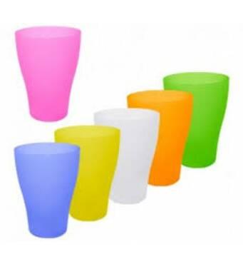 Набір пластикових  склянок  0,25 л  в тубусі (22-72)