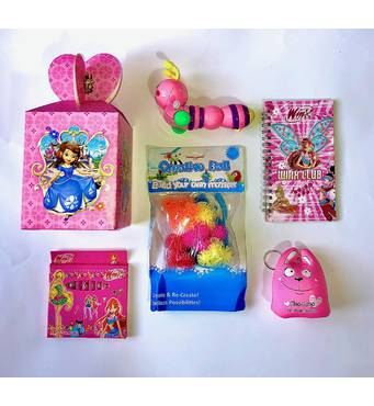 Дитячий міні набір подарунків для дівчаток на будь-яке свято