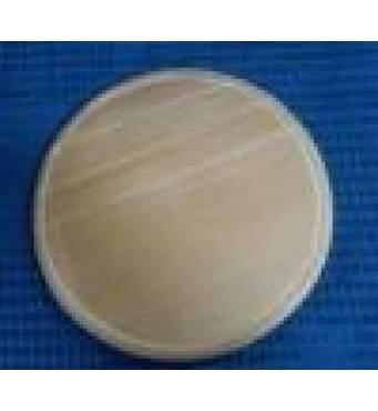 Дошка обробна   дерев'яна кругла 26 см (43-494)
