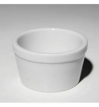 Розетка фарфорова біла  80 мл F - 0716 (108-144)