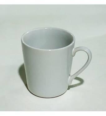 Чашка фарфоровая  белая 210 мл  Довбышский фарфоровый завод 8в17  (71-70)