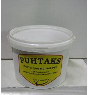 PUHTAX сильнодействующая  микрополимерная  очищающая  паста для рук 0,8 л (9-15)