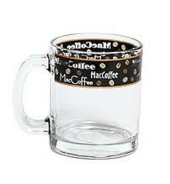 Кружка 300 мл   Кофе черный 04с1208 Опытный стекольный завод(23-118)
