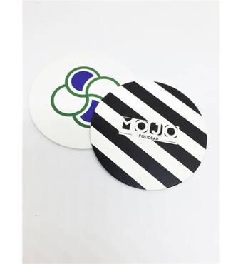 Костери з логотипом