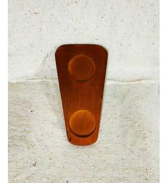 Доска деревянная для подачи пивного бокала и салатника Украина(90-13)