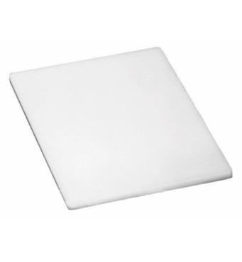 Дошка обробна пластикова білого кольору 600*400*13 мм   (74-1282)
