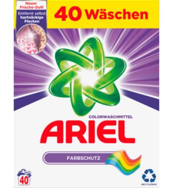 Стиральный порошок Ариэль Ariel 40 пр 2,6 кг Германия для цветной стирки