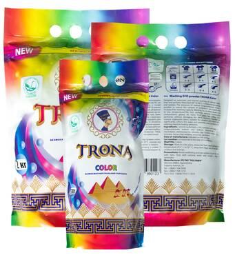 Стиральный ЭКО-порошок для цветного белья TRONA Color 1,0 кг
