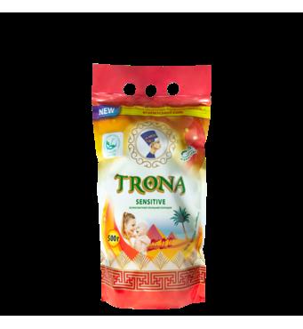 Порошок пральний безфосфатний TRONA Sensitive 0,5 кг