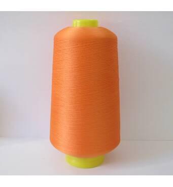 Текстурированная нить 150D/1 Цв.145 оранжевый