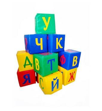 Детский набор кубиков Буквы 30см
