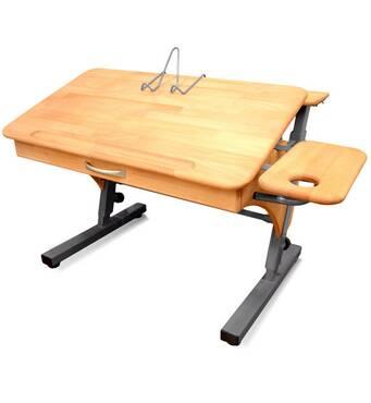 Парта стол растишка с 2 полками (уже с новыми ножками)