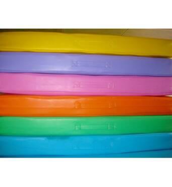Маты гимнастический детский раскладной одноцветный 1х2 м. Спортивный гимнастический крепкий мат