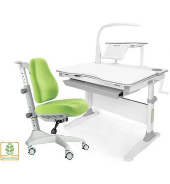Парта и кресло эргономические Evo-30 New + лампа Удобные