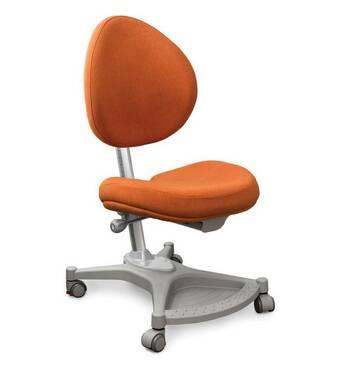 Детское ортопедическое кресло Mealux Neapol оранжевое однотонное
