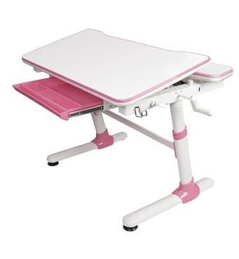 Детский письменный стол Evo-kids Duke Pink