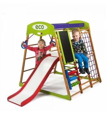 Дитячий спортивний комплекс для квартири Карамелька Plus 3