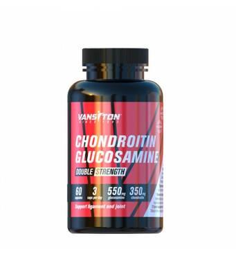 Для суглобів і зв'язок Хондроитин-глюкозамин 60 капсул Vansiton