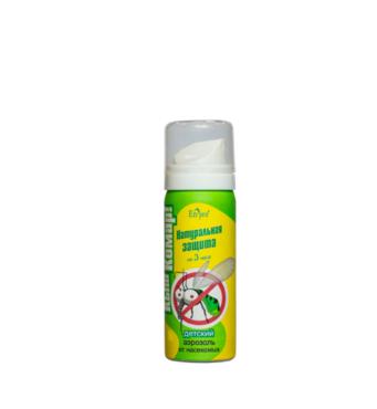 Аерозоль-репелент Кыш-Комар для дітей 40 г Краса і Здоров'я