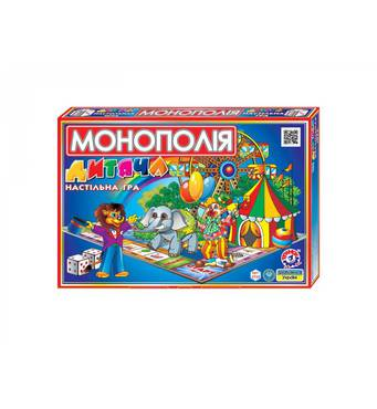 Детская игра монополия