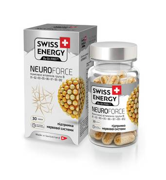 Вітаміни в капсулах Neuroforce №30 Swiss Energy