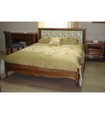 Двуспальная кровать Амальтея из дерева